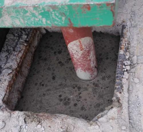灌浆料应用在钢铁厂的客户案例 (6)
